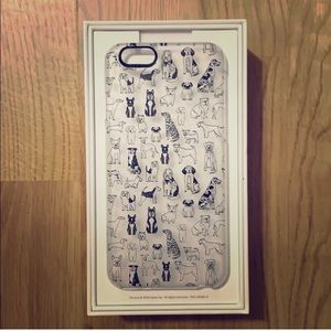 Anthropologie Casetify Dog Lover iPhone Case